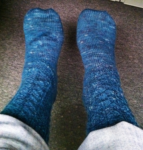 I.B.Footsie socks finished