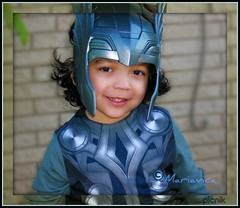 Thor (Viking God) Smiling (Mariavica17-) Tags: playing smile smiling october fiesta octubre thor littleboy holloween nochedebrujas vikinggod mariavica diosvikingo 31octubrepicnikthor soulopeople2 soulopeople3 soulopeople4
