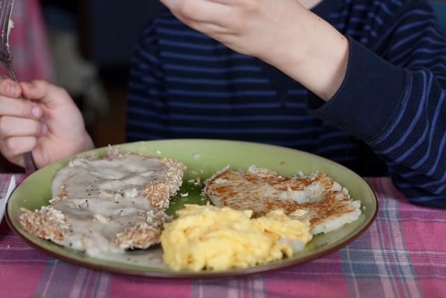 Nicholas' favorite breakfast