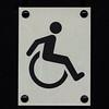 WHEELCHAIR ACCESS (Leo Reynolds) Tags: wheelchair signinformation canon eos 7d 0006sec f80 iso250 105mm 05ev xleol30x hpexif sign xx2011xx