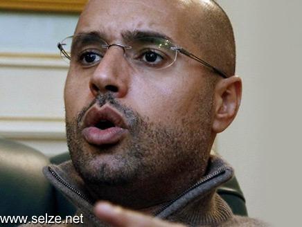 أنباء اعتقال سيف القذافي وقطع
