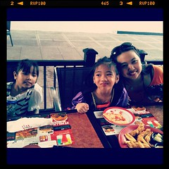 W/ Sam & Jacqui @ TGIF after the ToT