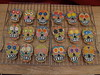 Day of the Dead Cookies (nikkicookiebaker) Tags: