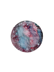circle (Ryan Ramsay Bennett) Tags: animals watercolor stars paint space wildlife cosmos grotlantneruber