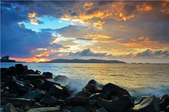 Sunset at Tanjung Lipat (bearnerd) Tags: sunset seascape nikon cokin p121s d7000 p121l nikkor18105