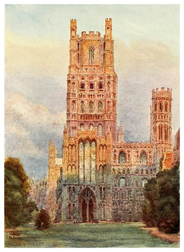 018-Ely- Cathedral cities of England 1908- William Wiehe Collins