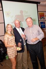 Champagne Toast winner, Bob Pritchard