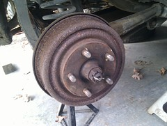 volvo amazon drum rear 1966 brakes 122