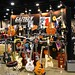 Gretsch Guitars display