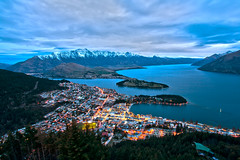 Queenstown from Bob's Peak (lawmurray) Tags: newzealand southisland queenstown bobspeak