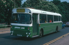 SMA 3 Route 725 June 1978 (national_bus_510) Tags: nbc surrey alexander greenline aec nationalbuscompany londoncountry aecswift smaclass lcbs