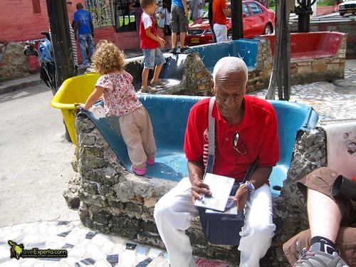 Local Vendor of Callejon de Hamel, Habana Cuba