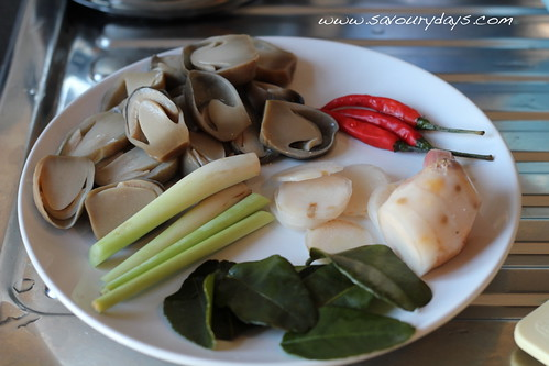 Tom Yum Goong - Ingredients