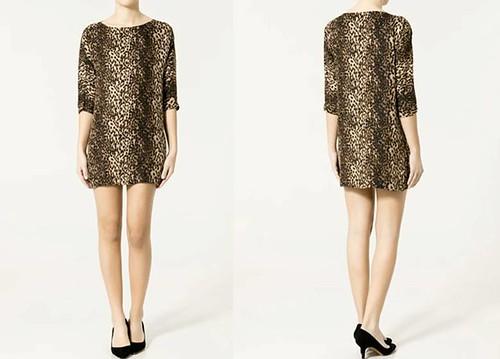 Vestido-tunica-estampada-Zara-Primavera-Verano 2011