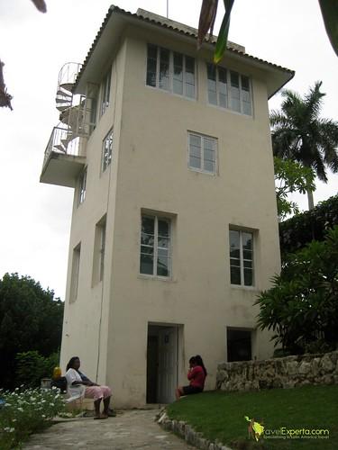 Mirador Tower at Hemingway's House - Cuba