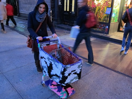 Olek on Bowery
