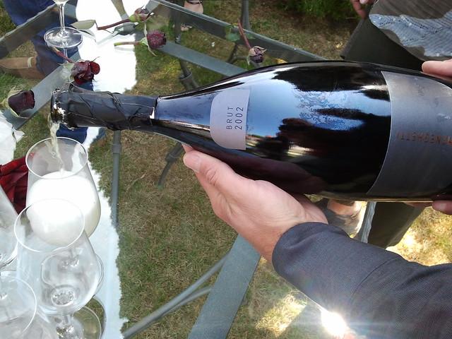 2002 Meneghetti Brut sparkling wine