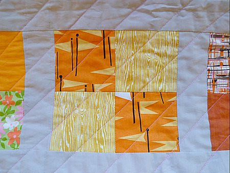 Lizzy House print (& wood grain)