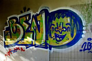 Graffiti in het Voormalig Waterleiding Gebouw / Helden