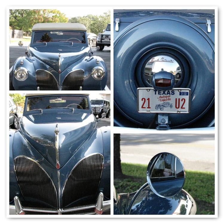 Antique Car Mosaic