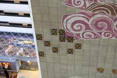 Details (Sam Howzit) Tags: southwest art tile design 1971 mural florida indian disney 1970s waltdisneyworld 4thfloor fourthfloor contemporaryresort maryblair nativeamerica grandcanyonconcourse