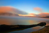 Lake Cumberland (JGo9) Tags: morning trees lake tree water fog clouds canon landscape eos rebel coast log rocks day kentucky ky foggy lakecumberland pulaskicounty burnsideky t1i