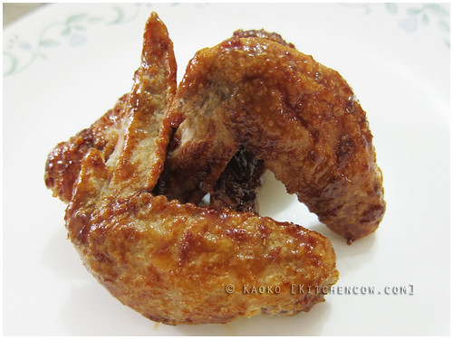 Korean-style Chicken Wings - Soy-Garlic Glazed Chicken