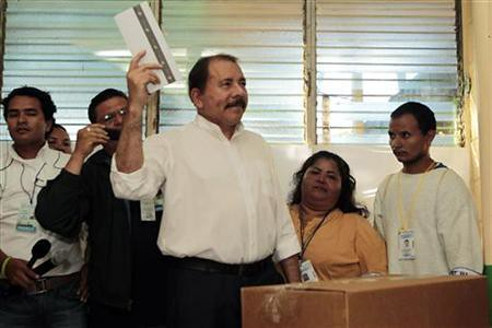 Nicaraguan President Daniel Ortega won re-election by a wide margin. He is the leader of the Sandinista National Liberation Front (FSLN). by Pan-African News Wire File Photos
