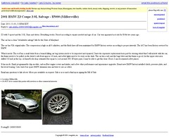 2001 BMW Z3 Coupe $5k | Salvage Title | Craigslist Baltimore, MD