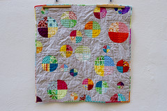 mixtape's quilt (mintyfreshflavor) Tags: chris friends baby sewing explore mixtape fos jodi