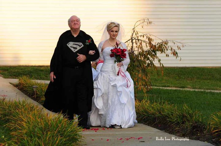 Fotos - Casamento do Superman