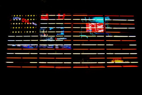 USA Flag Times Square