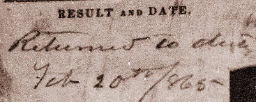 Lewis Stewart Civil War Hospital Result Page