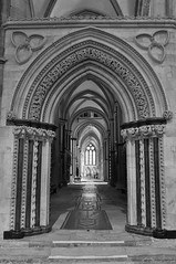 South Aisle, Lincoln Cathedral (Colin'sPic's) Tags: bw cathedral lincoln southaisle lincolncathedralmono