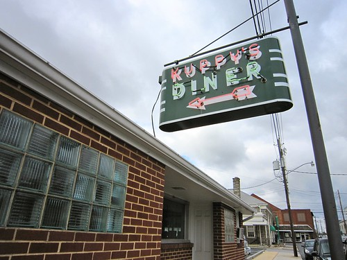 Kuppy's DIner Neon Sign Middletown PA