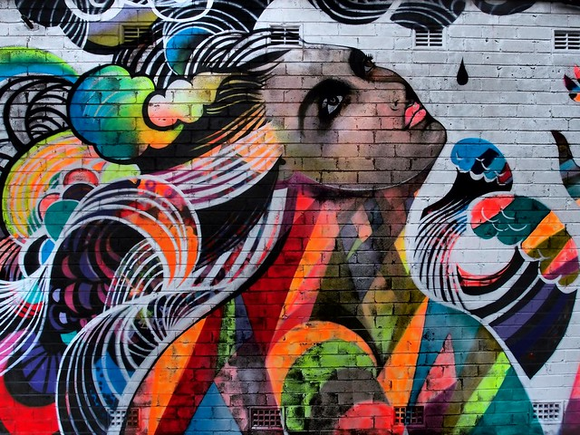 Outpost Project - Art from the streets - Cockatoo Island Sydney