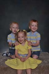 11-kdtgov2 122 (drjeeeol) Tags: pictures school brothers sister katie siblings charlie will multiples daycare triplets toddlers schoolpictures 2011 36monthsold