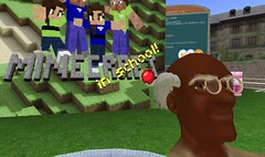 Lucas Gillispie talks about minecraft in school at Nonprofit Commons