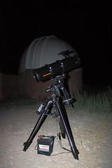 Calibrando un telescopio (Mik Chile) Tags: chile sol miguel del canon rebel astrofotografía desierto turismo fuentes silva celestron xsi calama chiuchiu telescopio astronomía 450d arqueoastronomía astrofotograph mikchile