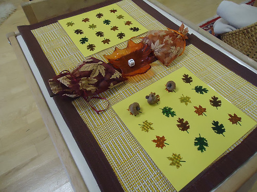 Acorn Math Game (Photo from To the Lesson!)