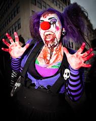 Scary Clown Zombie