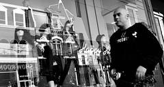 Toronto street photo - b&w (*bomben*) Tags: street city people urban blackandwhite bw white toronto canada black photography photo nikon photos nikkor 18105 d90 3556