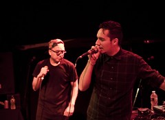 Blue Scholars (elteodoro) Tags: seattle new york city nyc blue music ny sol tour natural northwest manhattan 206 ballroom bowery physics hiphop scholars bambu thig the geologic sabzi grynch cinemetropolis depistola