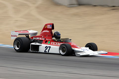 1975 Parnelli VPJ4 (autoidiodyssey) Tags: car race vintage f1 formulaone 1975 formula1 montereyhistorics parnelli 2011rolexmontereymotorsportsreunion vpj4
