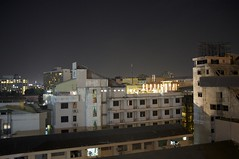 Pattaya nightscene (rogerml) Tags: buildings thailand darkness fujifilm lamplight nightscene pattaya chonburi x100 blinkagain finepixx100 rogerml