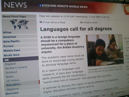 Languages essential BBC
