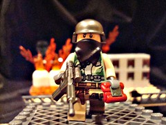 Sabotage at the factory (Lego commando) Tags: lego brickarms