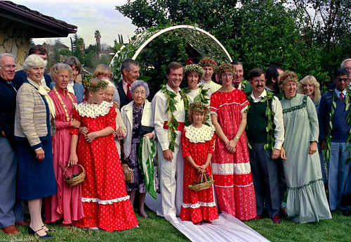 A wedding in Orange County 1986 by Ref54