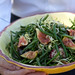 Harvest lunch fig and haricots verts salad