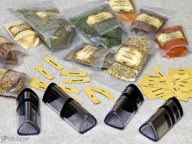 Spices and SpiceCare Containers